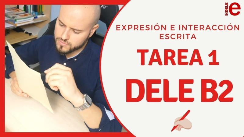 Carta Formal de la Expresión Escrita del DELE B2 Tarea 1