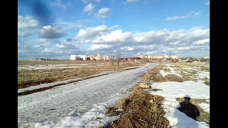 Часть 1,обзор с точки на город Подольск