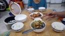 Bữa Cơm Gia Đình Đơn Giản Hai Món Canh Chua Tôm Rau Muống Cá Bông Lau Chiên