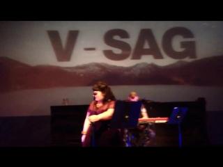 V-Sag Feat. Alexandra McKay - Feather (Live at Megaron) 27-11-2013