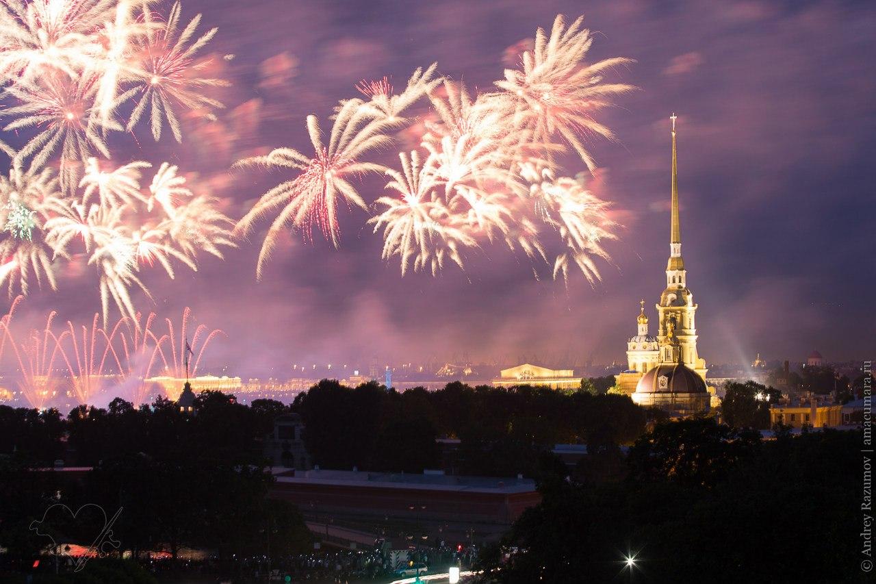Алые паруса 2013 выпускной фейрверк