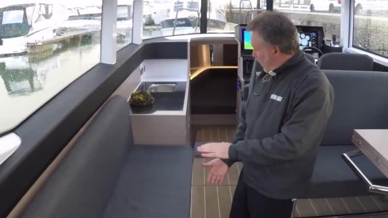 Морской алюминиевый катер XO 360 RS для путешествий, рыбалки и отдыха.