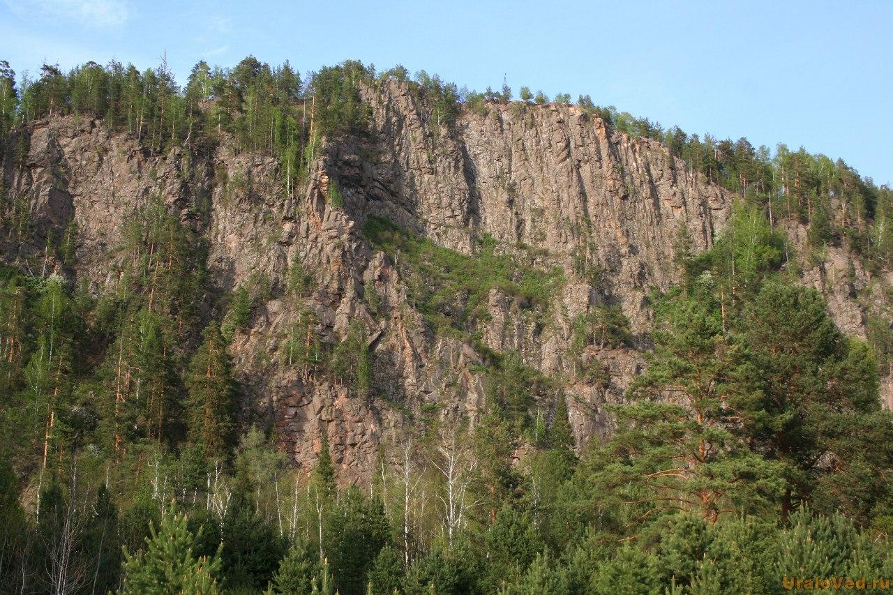 Скала Медведь-камень на реке Тагил