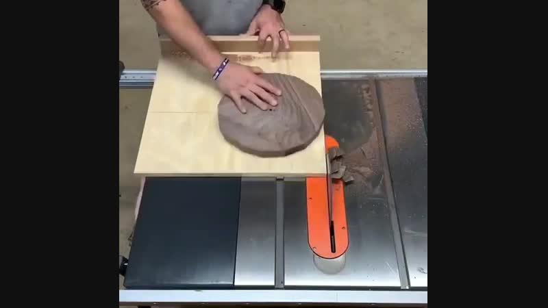 Как сделать круг на циркулярке своими руками