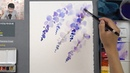 [LVL3] Wisteria Watercolor Painting for Beginners