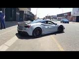 Ferrari 488 GTB Libery Walk Makes Donuts - South Africa