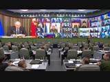 Селекторное совещание с руксоставом ВС РФ под председательством Сергея Шойгу (4.12.2018)