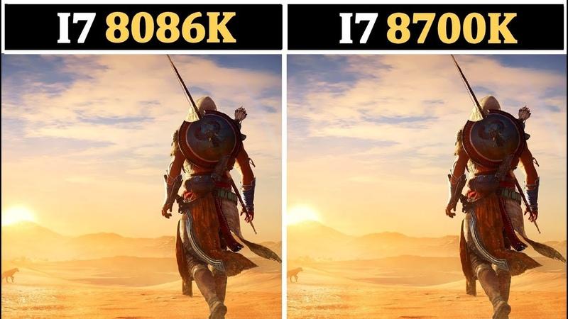 2018 Intel I7 8086K vs I7 8700K | Tested 15 Games |