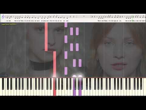Так красиво - Лазарев Сергей (Ноты и Видеоурок для фортепиано) (piano cover)
