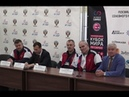 Пресс конференция оргкомитета Абсолютного Кубка мира по самбо 2018 в Сочи