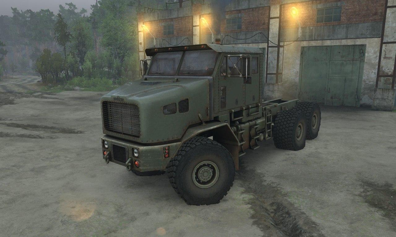 Oshkosh M1070 HET для 03.03.16 для Spintires - Скриншот 3
