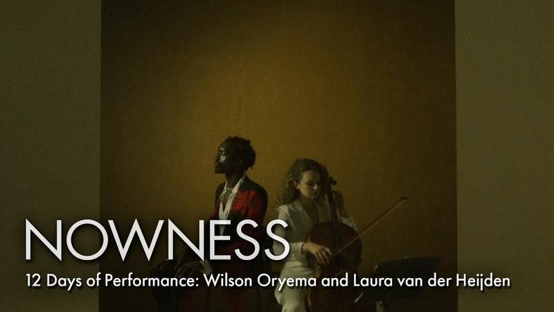 12 Days of Performance Wilson Oryema and Laura van der Heijden