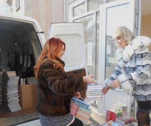 Гуманитарная помощь Харцызску от Таганрога