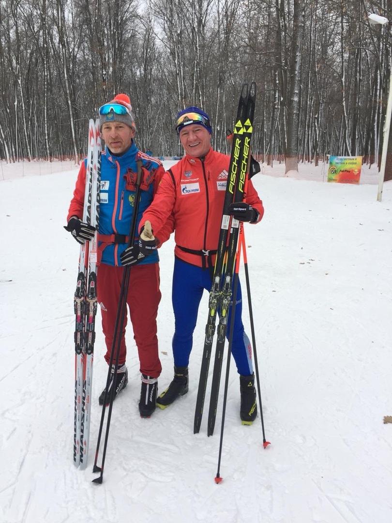 Роман Старовойт в Мокве открыл лыжный сезон