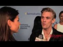 Aaron Carter at the World Premiere of NatGeo's Saints & Strangers #SaintsandStrangers #NATGEO - YouTube