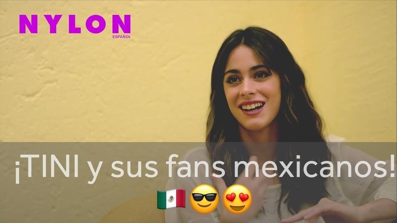 TINI afirma que sus fans mexicanos son incondicionales