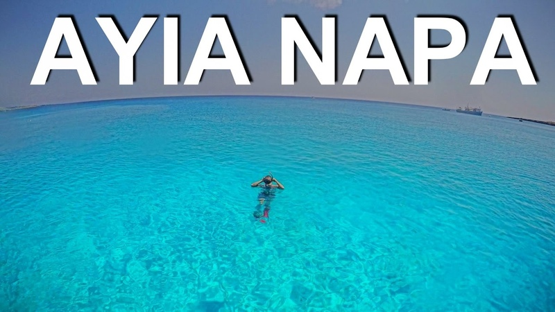 CRYSTAL CLEAR WATERS OF AYIA NAPA CYPRUS FHD 60FPS