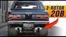 The Ultimate Street Mazda | Mazda 20B 3-rotor RX-3