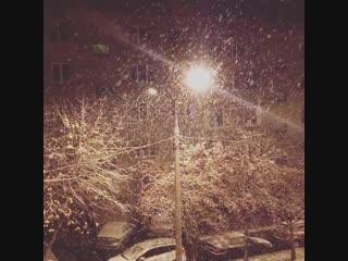 Первый снегопад в Москве 27 октября 2018 года! ❄
