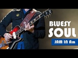 Blues Soul Guitar Backing Track Jam In A Minor