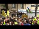 «Жёлтые жилеты» вышли на 35-ю акцию протеста во Франции — LIVE