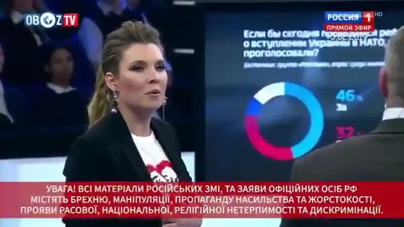 Скабеева - Эльза Кох фашистского разлива ️️ - Братский народ блдь.