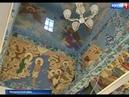 Художница Оксана Архипова украсила церковь с. Летник