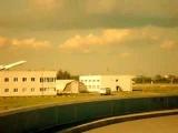 Пулково. Ту-154 взлет