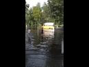 Гомель. За Давыдовским рынком большая лужа 21.07.2018г.