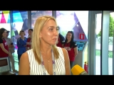 Елена Веснина получила в Сочи паспорт болельщика