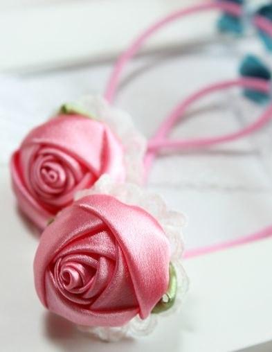 Ideas para el hogar: Rosa paso a paso con cintas de raso