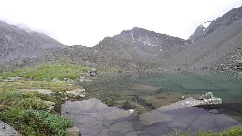 Озеро Горных Духов предгорье Белухи Путешествие на Алтай июль 2018 г