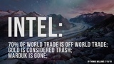 70 of World trade is OFF World Trade Gold is considered Trash Marduk is GONE