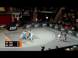 FIBA 3x3 Women Europe Cup 2018: 1/2 FINAL - France VS. Ukraine (16-09-2018)