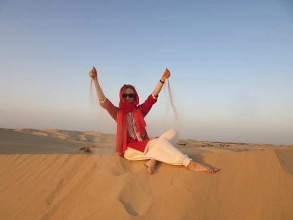 Оазис в алжирской Сахаре / Gazelle d'Or, El Oued