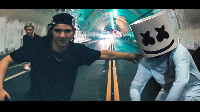 Marshmello Skrillex - Alone With Friends (Drex Mashup)