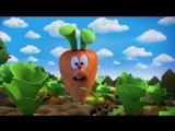Как Кроша, в морковку телепортнуло. (Отрывок из мультсериала: Смешарики).