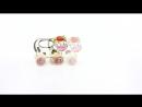 Каталка Коровка Alatoys Алатойс деревянные развивающие игрушки