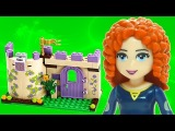 Animated LEGO Meridas Highland Games 41051 Disney Princess Flash Speed Build