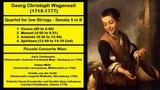 Georg Christoph Wagenseil (1715-1777) - Quartet for low Strings - Sonata 5 in B