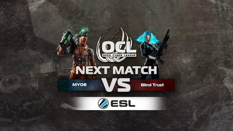 MYOB (COOLLERZ, Nitrino) vs Blind Trust (Toxjq, clawz). Go4QC. Quake Champions