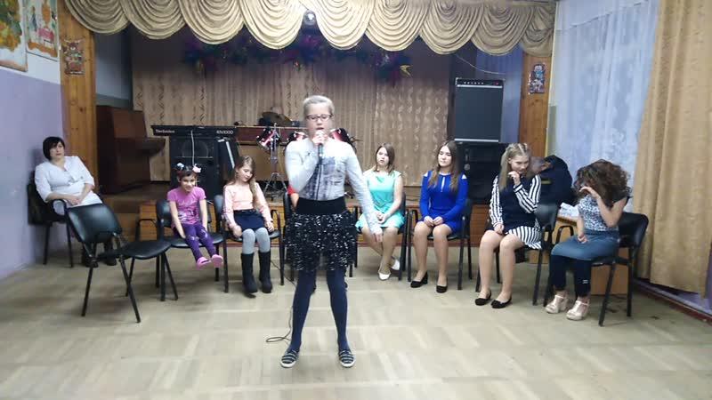Конкурсно-развлекательная программа Мисс санатория . Февраль 2019. Ксюша Завадина, 3 отряд