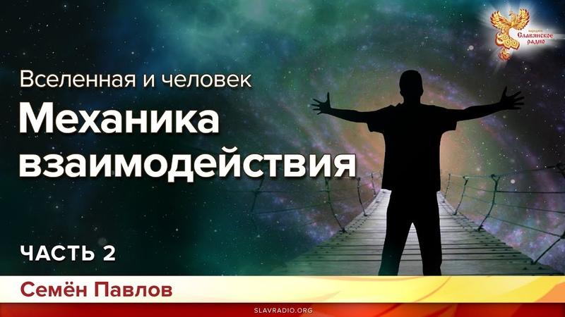 Вселенная и человек. Механика взаимодействия. Семён Павлов. Часть 2