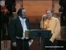 Лучиано Паваротти светится улыбкой в дуэте с Брайаном Адамсом. Bryan Adams Luciano Pavarotti - O Sole Mio