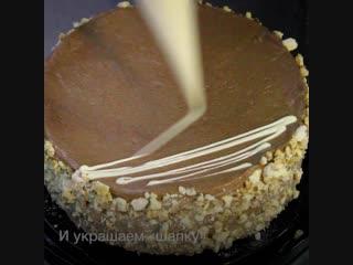 """Делаем Киевский торт """"по ГОСТу"""". Как в супермаркете готовят по советским рецептам!"""