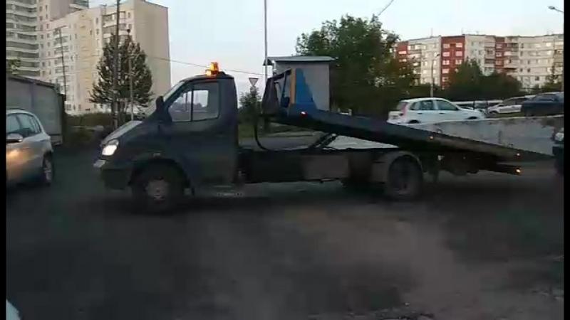 Эвакуатор Пермь. Автоэвакуатор со сдвижной платформой