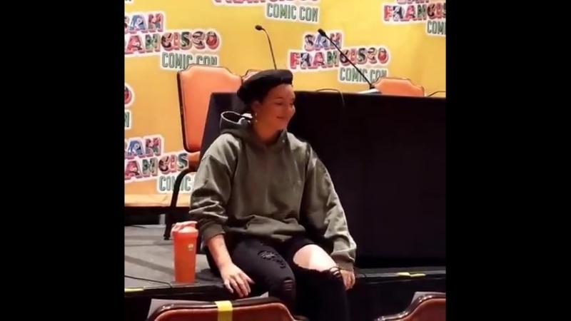 Камрен Бикондова на «San Francisco Comic Con» (09.06.2018) 2