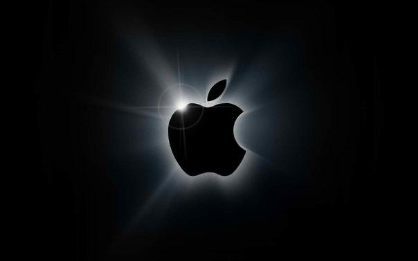 фото откусанное яблоко