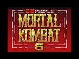 Mortal Kombat 6 28 People Hack (Genesis) - Longplay