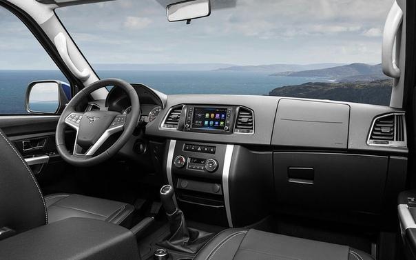 Пикап УАЗ получил новые опции.